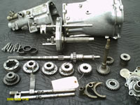 The first Hall-Hewland gearbox